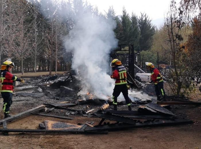 Incendio Estructural Parcelación