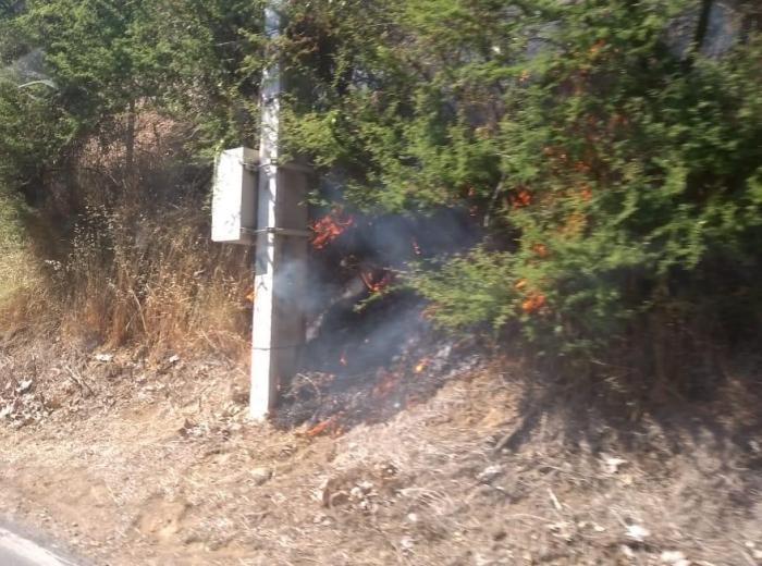 Incendio en Rangue