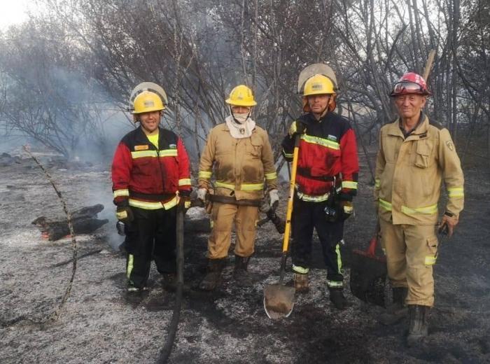 Incendio Bahia Rangue.